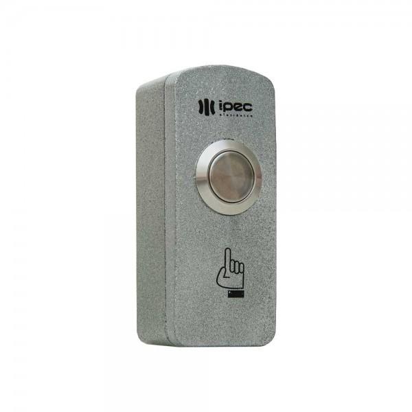 Botoeira IPEC de INOX prata (uso interno ou externo)